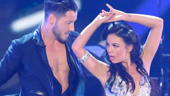 Val Chmerkovskiy and Janel Parrish were the ideal couples on the dance floor.