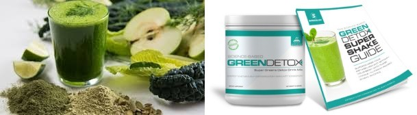 science based green detox organic blend of fruits and vegetables