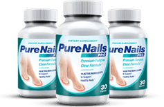 pure nails pro is an amazing supplement to get ride of toenail fungus, it also works with nails.