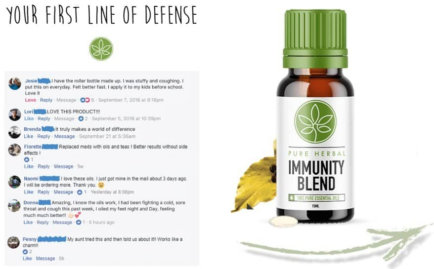 pure herbal immunity blend review what people are saying about this amazing immune system booster.