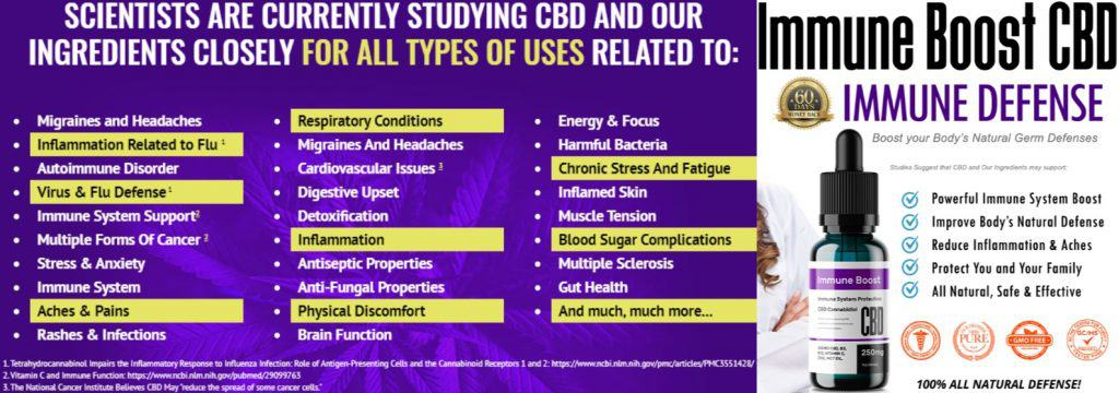 amazing oil with benefits, immune boost cbd oil can help you improve your immune system by providing natural and organic blend.