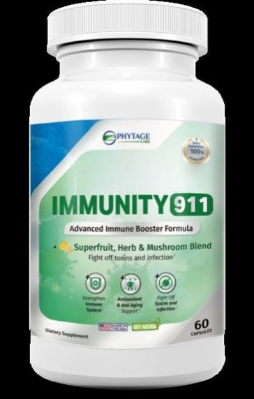 immunity 911 by phytage labs is immune booster that helps your tackle deadly viruses and diseases.