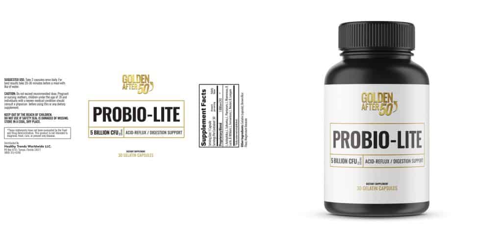 whats included in the probio lite, 5 billion cfu per serving improves your digestive system and helps with immune system